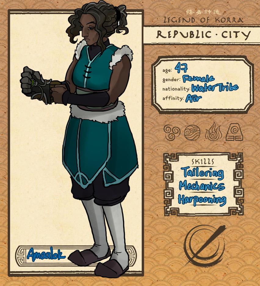 Republic City RP Application - Amaalok by karaii