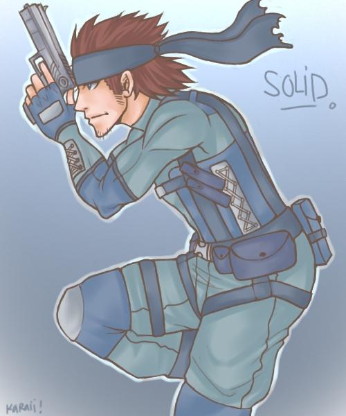 MGS - Solid by karaii