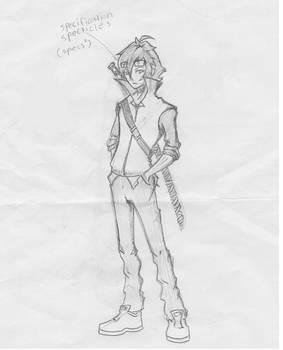 Akira Fujiname (Battle outfit)