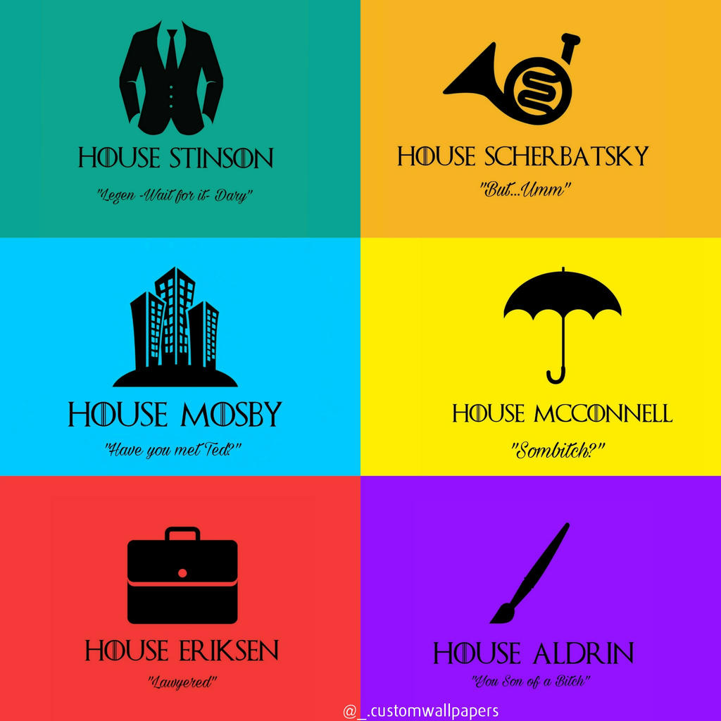 How I Met Your Mother X Game Of Thrones Wallpaper By Hafilali On