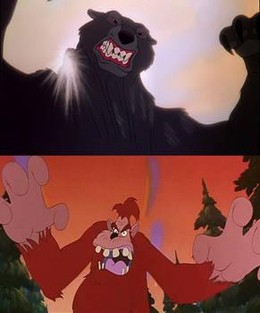 Big Foot vs Black Bear
