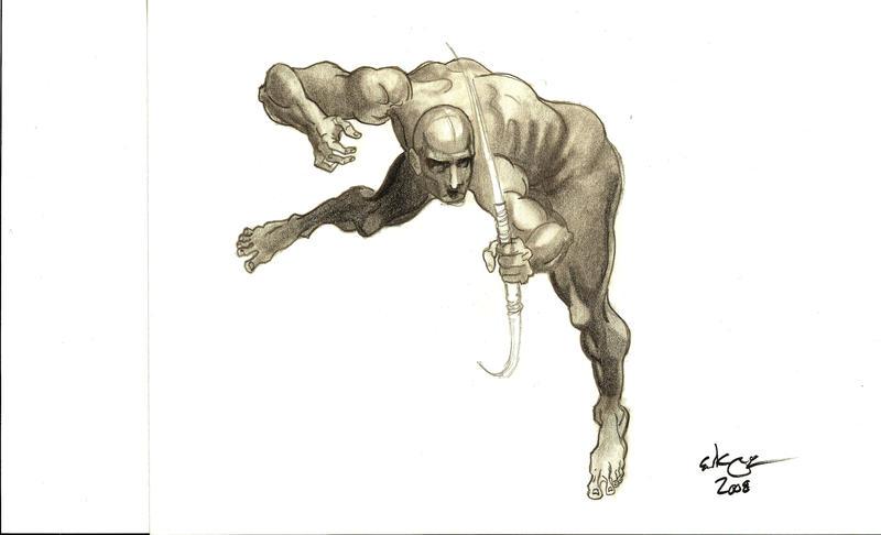 Dynamic Figure Drawing 002 by slick-rick3715 on DeviantArt