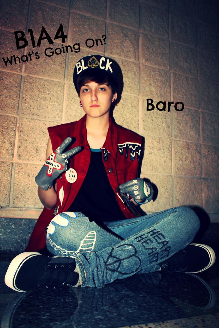B1A4 Baro Cosplay by  B1a4 Baro 2013