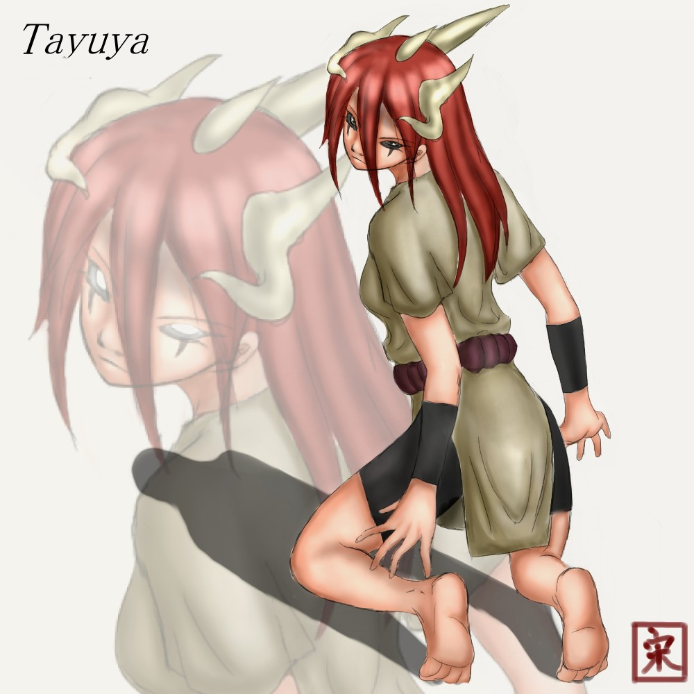 Naruto tayuya nackt