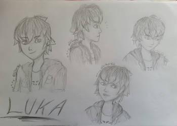 Luka Couffaine Sketches by Nitaxy