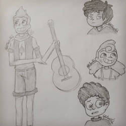 CAMP CAMP sketches by Nitaxy