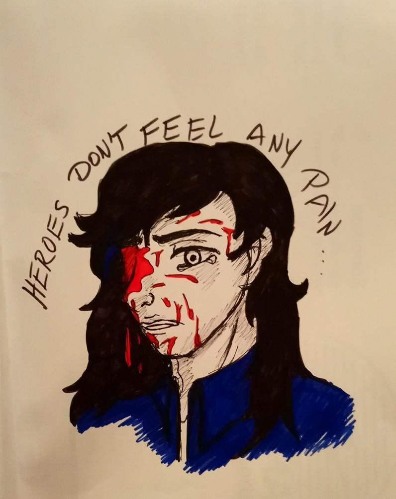 Heroes dont feel any Pain by SherlocksHedgehogJ