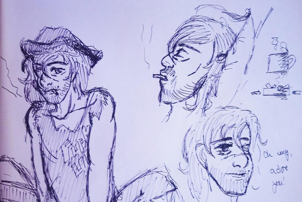 Stranger (some illustrations) by SherlocksHedgehogJ