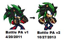 Dj - Sonic Battle PA Style v2 (+ Sprite Video!) by Djyoshi25