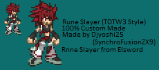 Rune Slayer in Tales of the World 3 by SorairoDJ