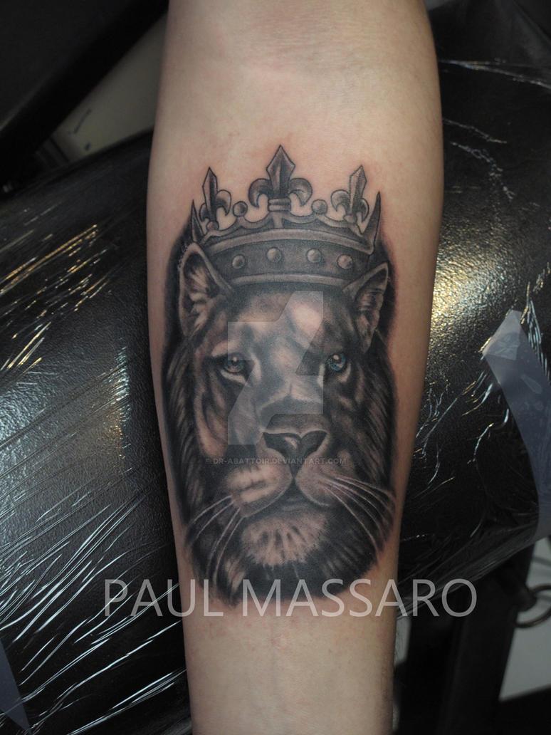 Tattoo Lion King By Dr Abattoir On Deviantart