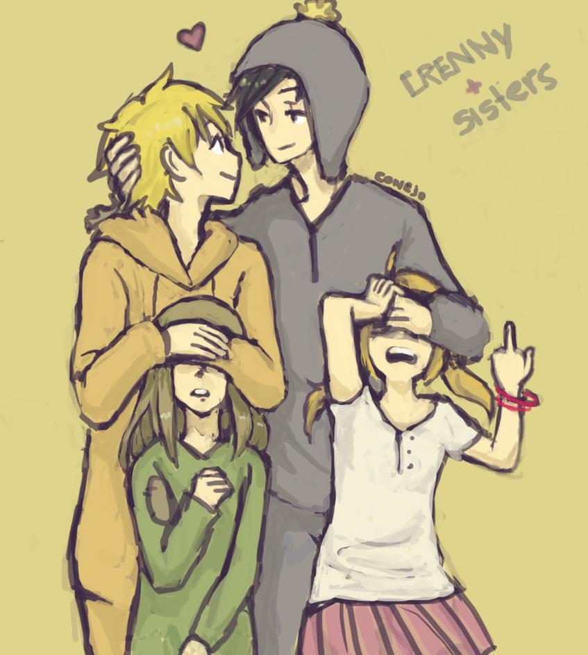 Crenny + sisters by Dakumes