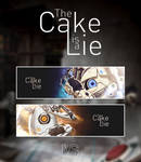 The Cake is a Lie Walltag