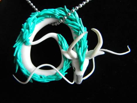Spirited Away Haku Necklace