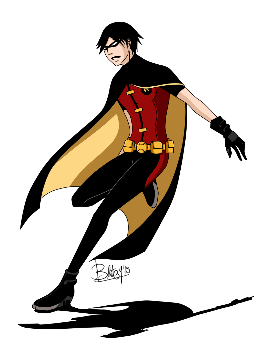 Young Justice Robin Fan Art