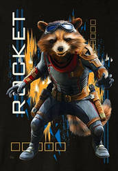 What sort of boots is Rocket wearing?