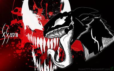 Wallpaper_D-Venom_Red_By_Xxavii777