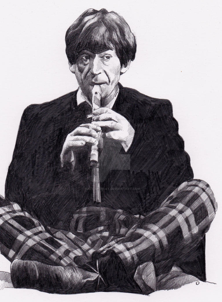 Patrick Troughton as Doctor Who by Kate-Murray