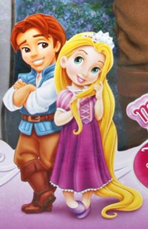 Flynn Rider And Rapunzel Fan Art Little Flynn Rider and...