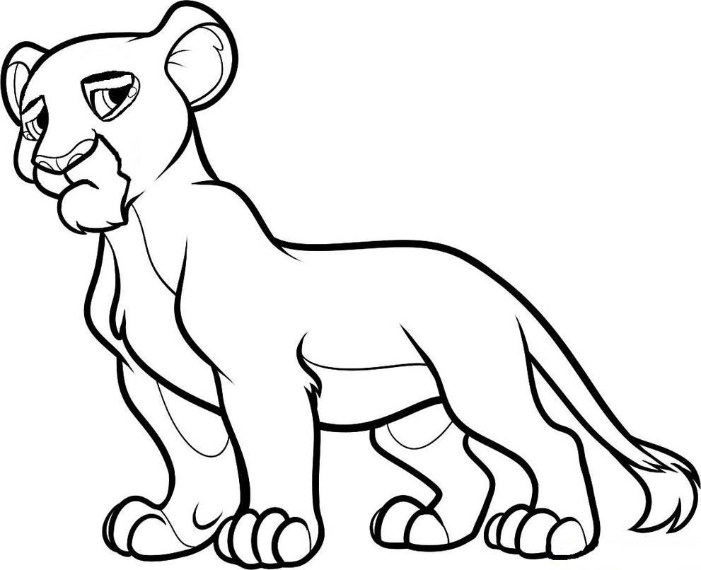 Drawing Skill Lion King Love Drawings