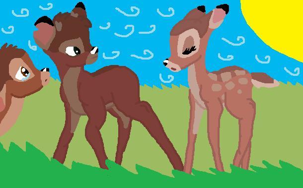 bambi and faline meet ronno