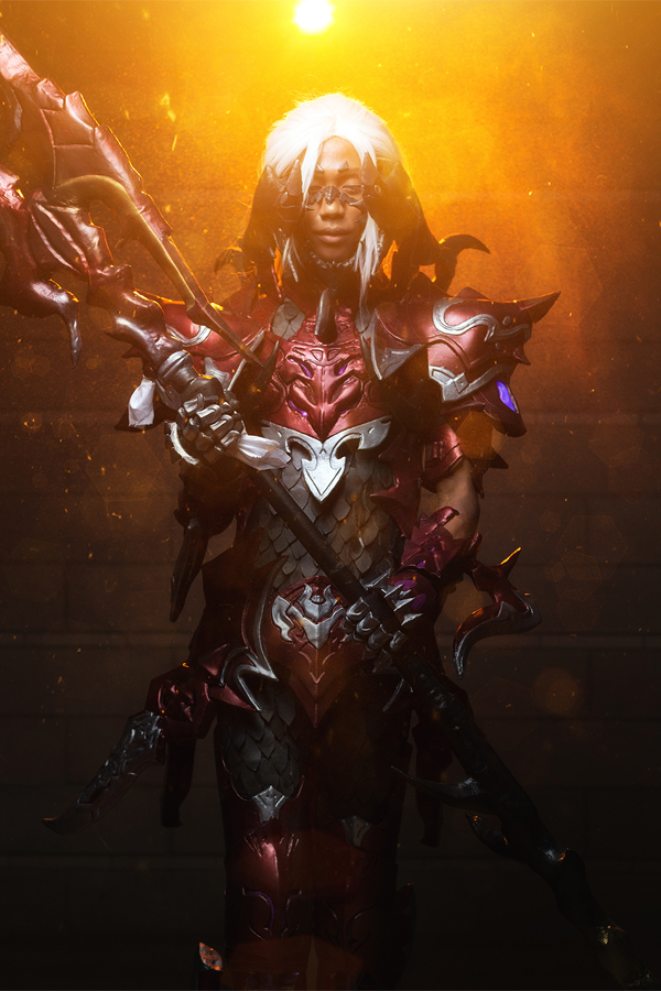 Red Drachen AF Dragoon by vitrih0lic