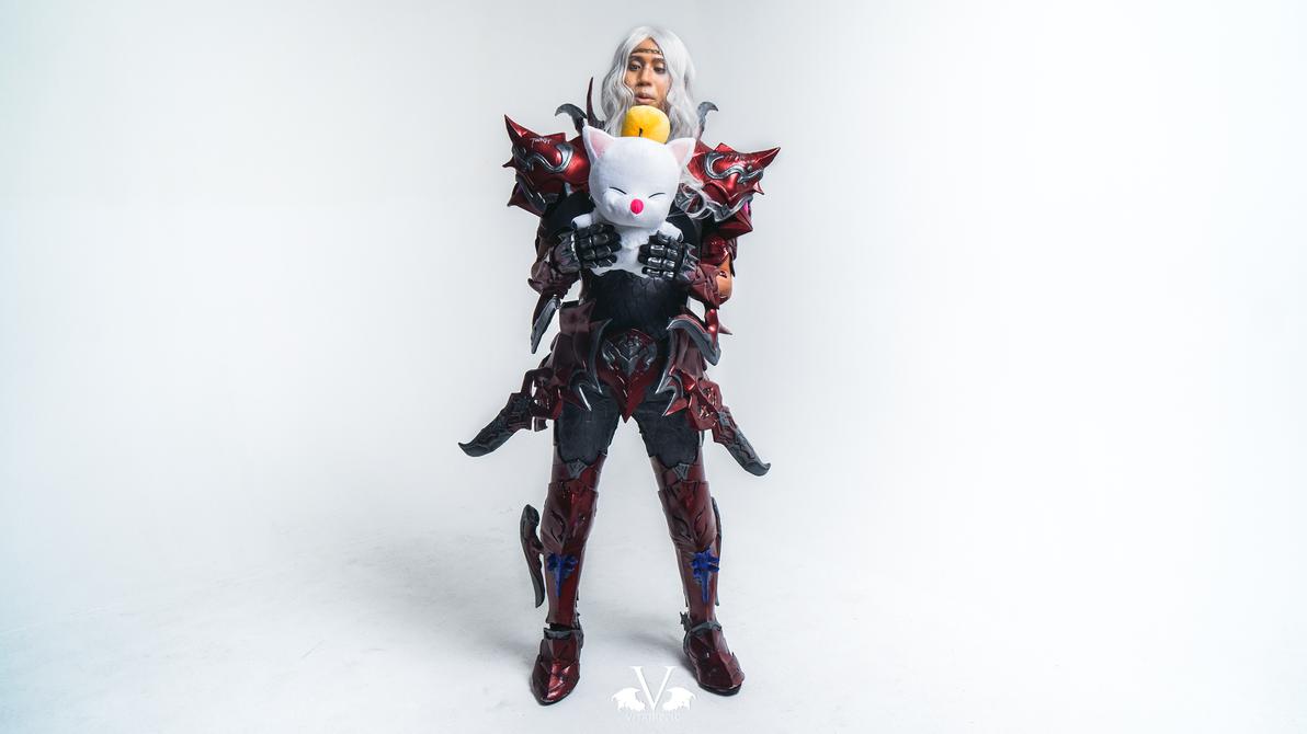 FFXIV Red Dragoon by vitrih0lic