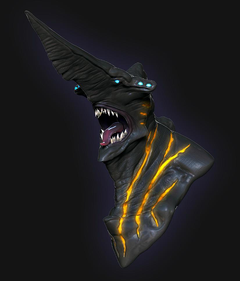 Kaiju - KnifeHead by xxxcubanxxx on DeviantArt  Kaiju - KnifeHe...