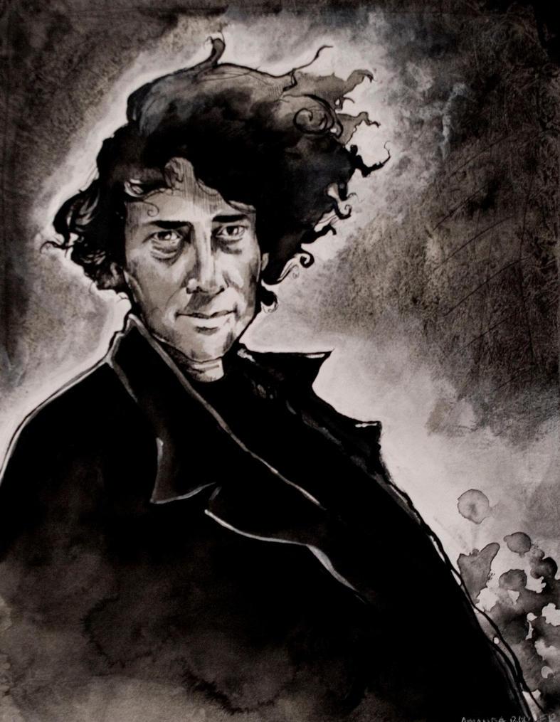 Neil Gaiman by Mizzy-chan