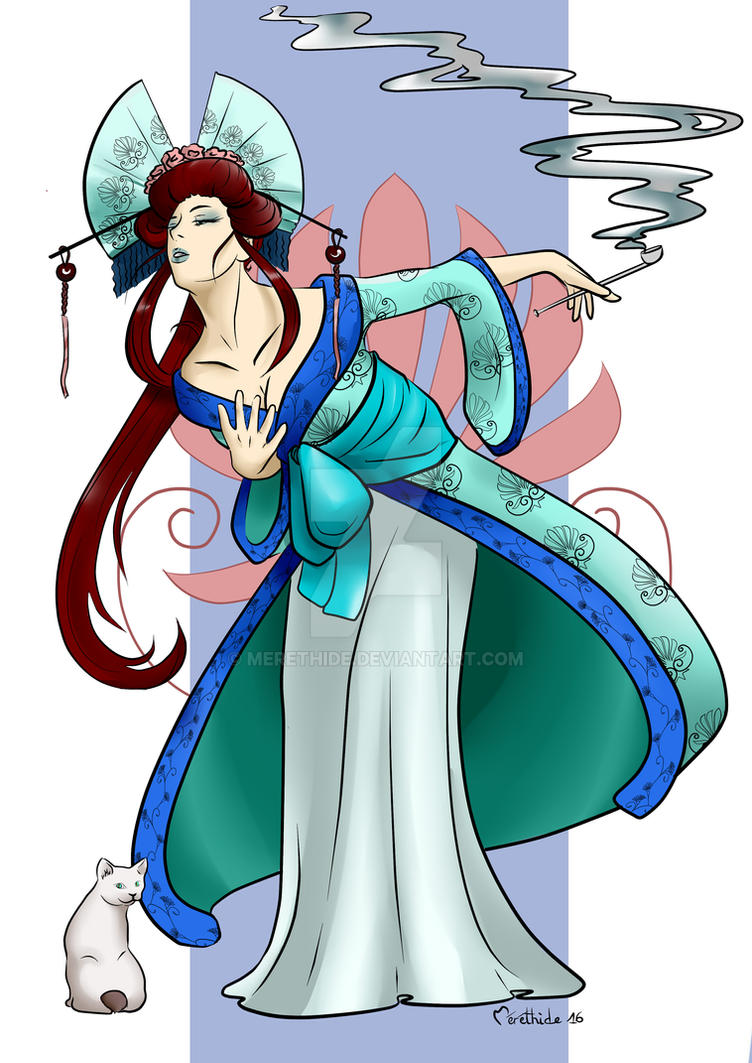 Geisha by Merethide