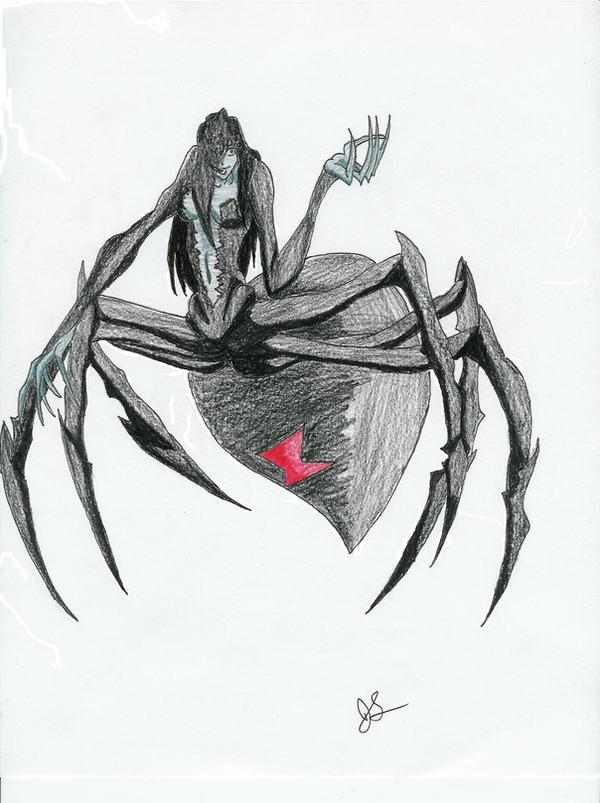 Nexus Beast: Spider Queen by dragon-kun15