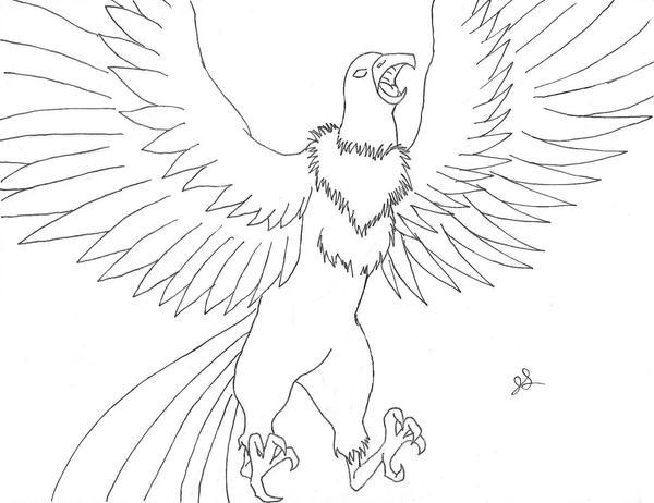 Cryptid 003E Thunderbird by dragon-kun15