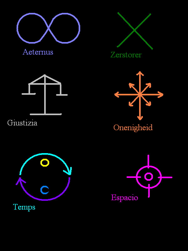 Forbidden Magic Runes by dragon-kun15