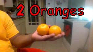 Manny Have 2 Oranges