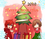 merry christmas 2019 by harihyon