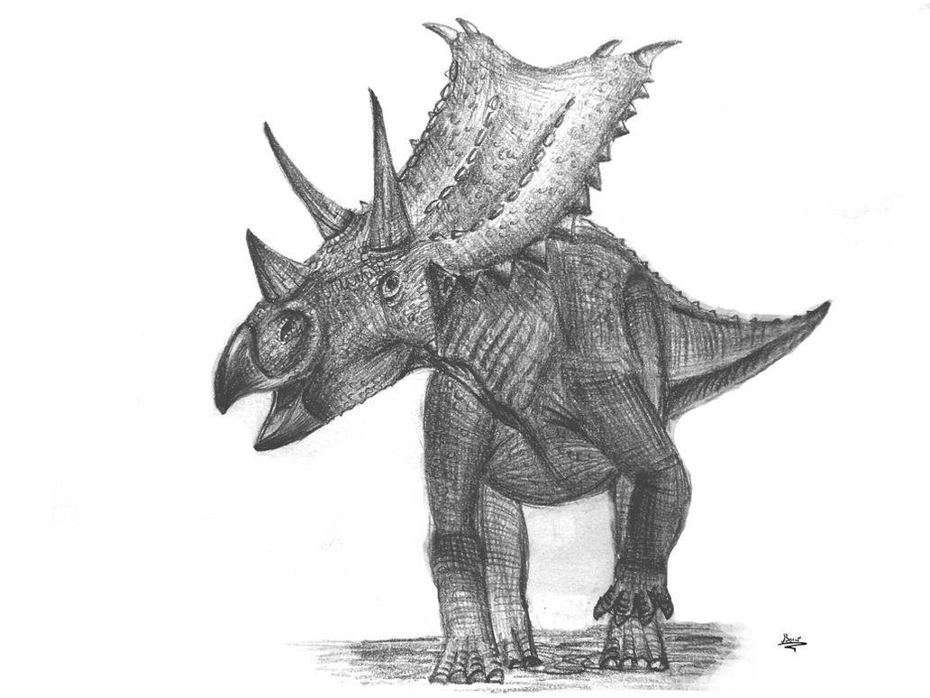 Chasmosaurus by diplodok7