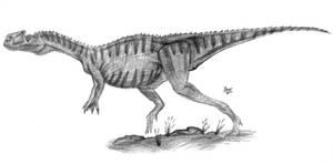 Monolophosaurus by diplodok7