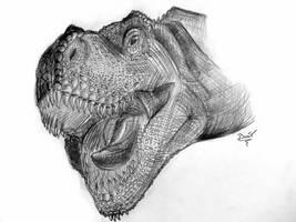 Tyrannosaurus rex by diplodok7