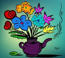 Tea bouquets by diplodok7