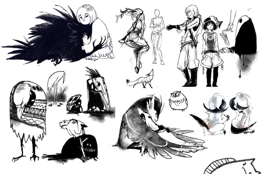 sketchdump_3 by oO-Kir-Oo