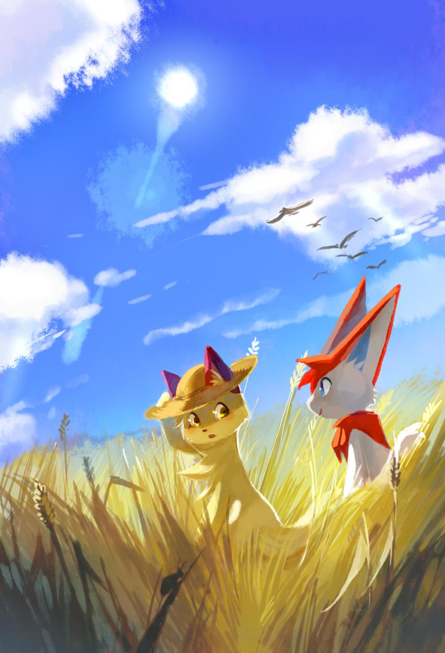 It's summer! by oO-Kir-Oo