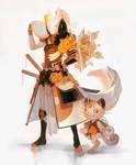 Meowth knight