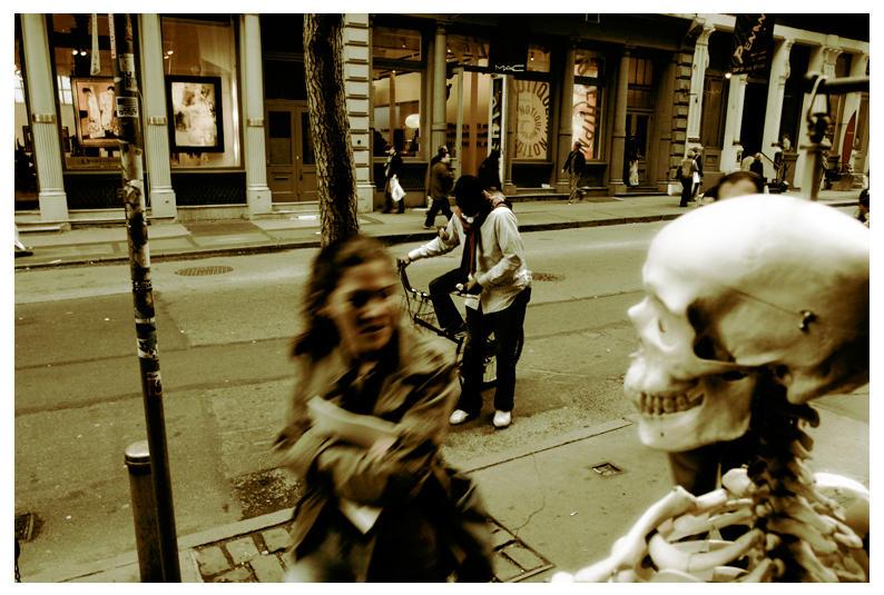 Skeleton Man by PomadMan