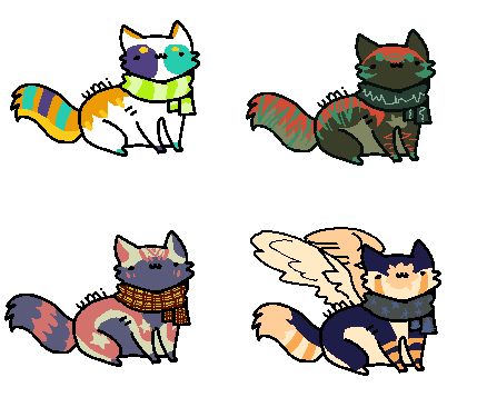 Free adopts yet again my friedns Taken by PlaguePuppet