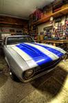 Camaro in the Garage