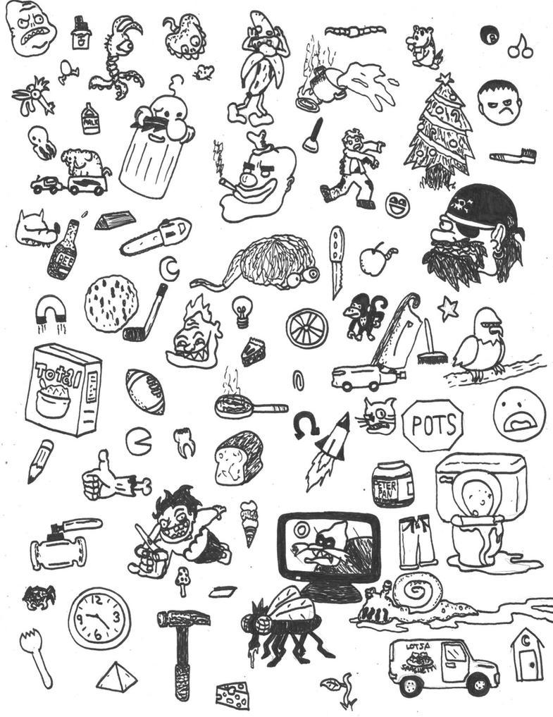 Many Random Doodles by TheVinnler on DeviantArt