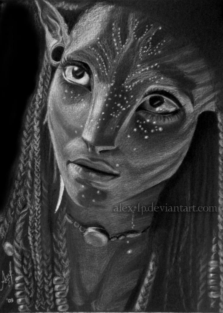 Avatar Neytiri By Alex Lp On Deviantart