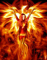 Dark Phoenix by NatRomanov