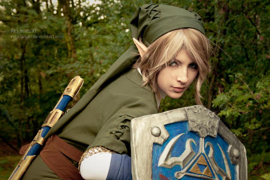 Legend of Zelda - On guard by Rei-Suzuki