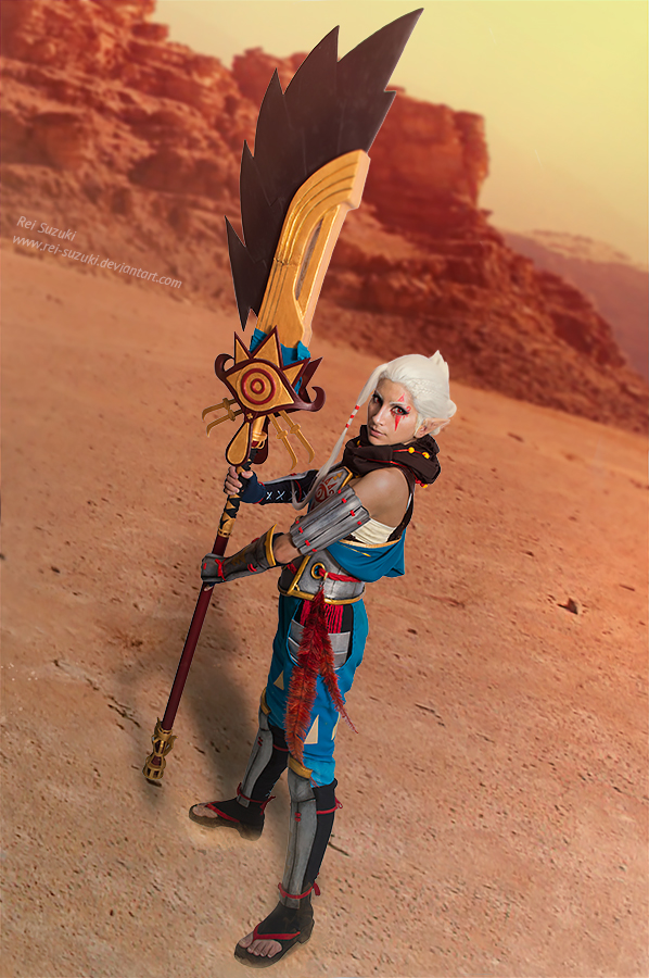 Hyrule Warriors - Impa by Rei-Suzuki